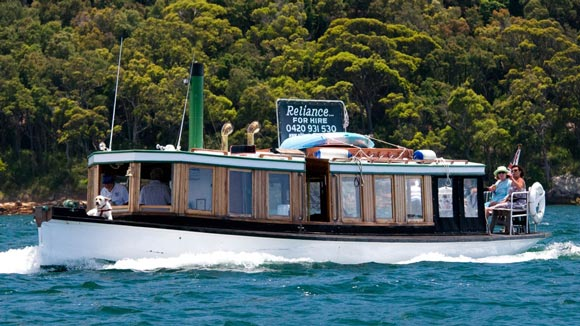 MV Reliance out cruising