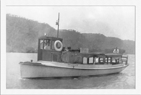 Reliance with wheelhouse c1945