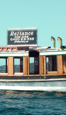 Reliance Ferry for Hire